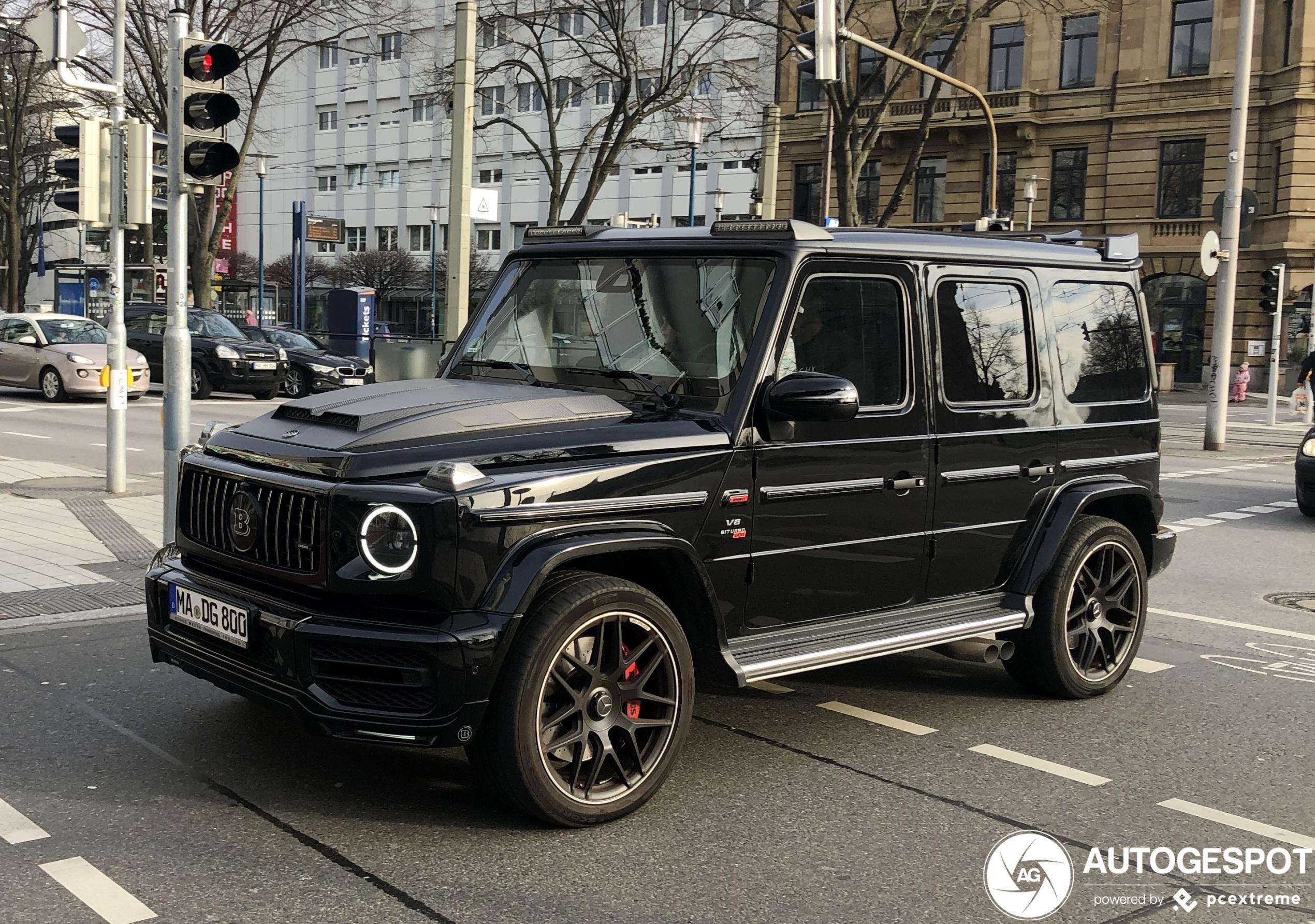 Voor de echte soldaat: Mercedes-AMG Brabus G 800 Black Ops