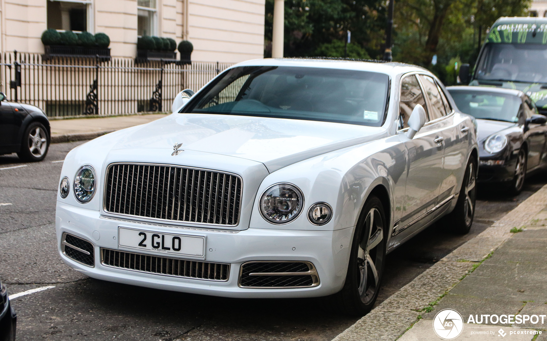 Bentley Mulsanne Speed 2016 1 Enero 2020 Autogespot