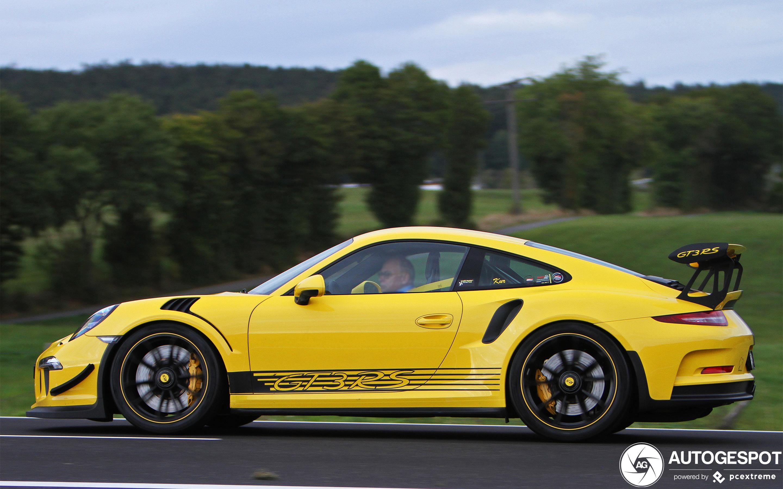 Porsche 991 Gt3 Rs 1 January 2020 Autogespot