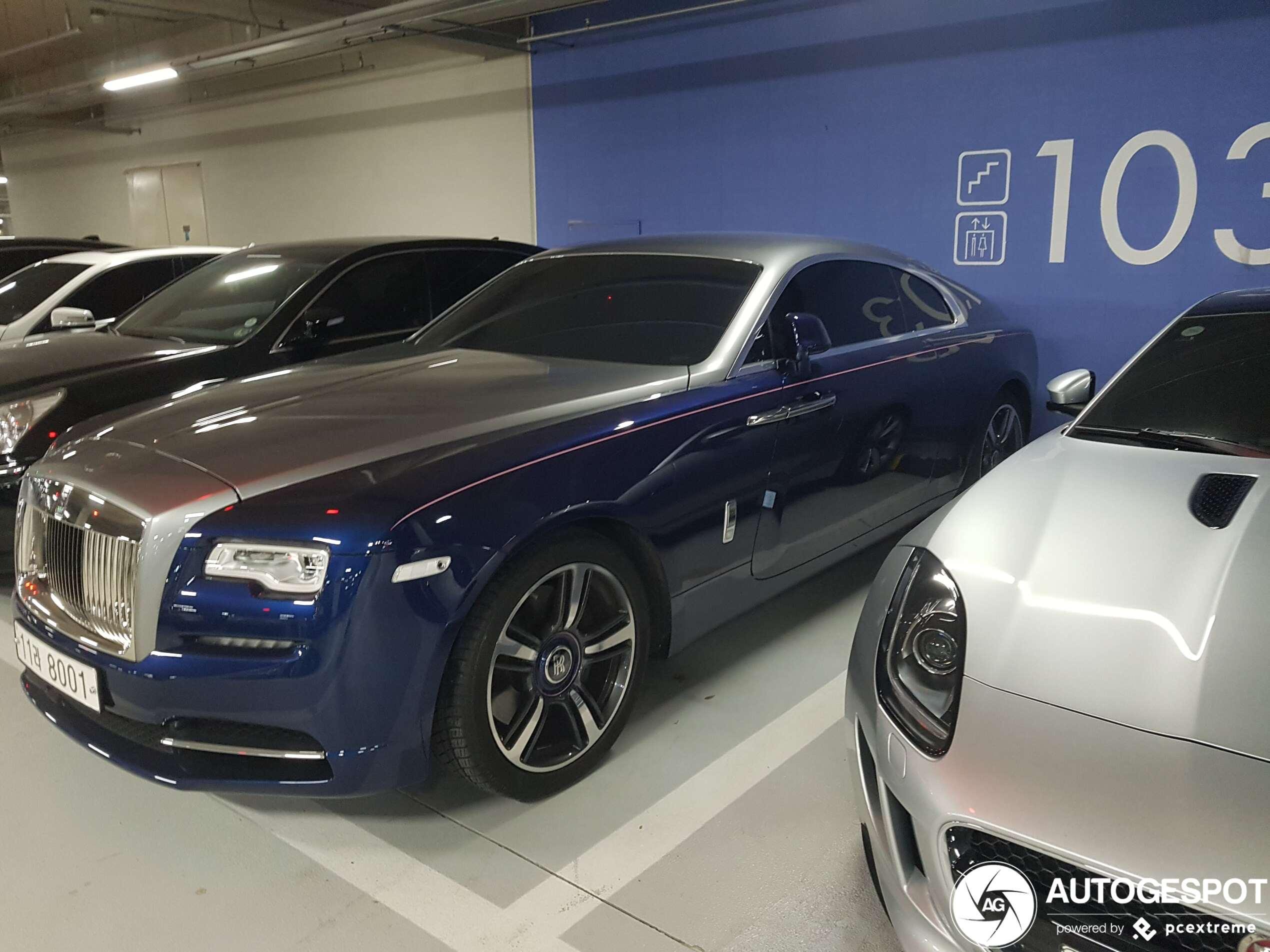 Eindelijk gespot: Rolls-Royce Wraith Series II Busan Edition