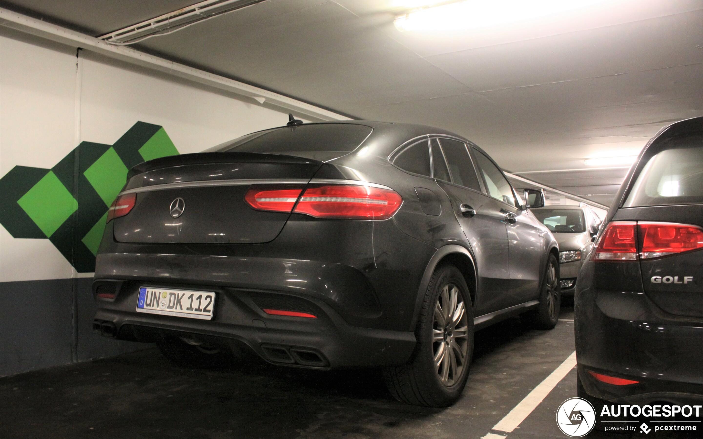 Mercedes-AMG GLE 63 Coupé C292