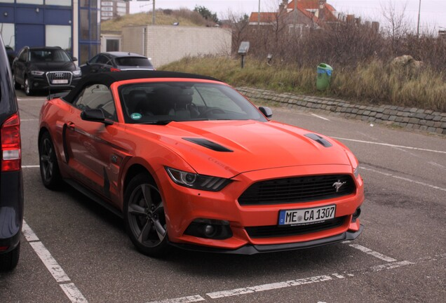 Ford Mustang GT California Special Convertible 2016