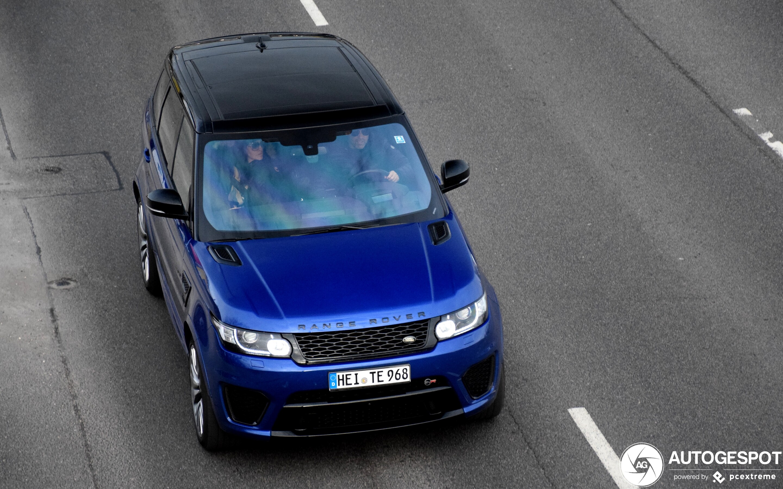 Land Rover Range Rover Sport SVR
