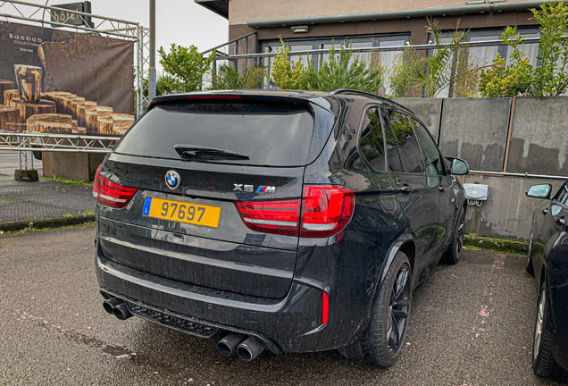 BMW X5 M F85 Edition Black Fire