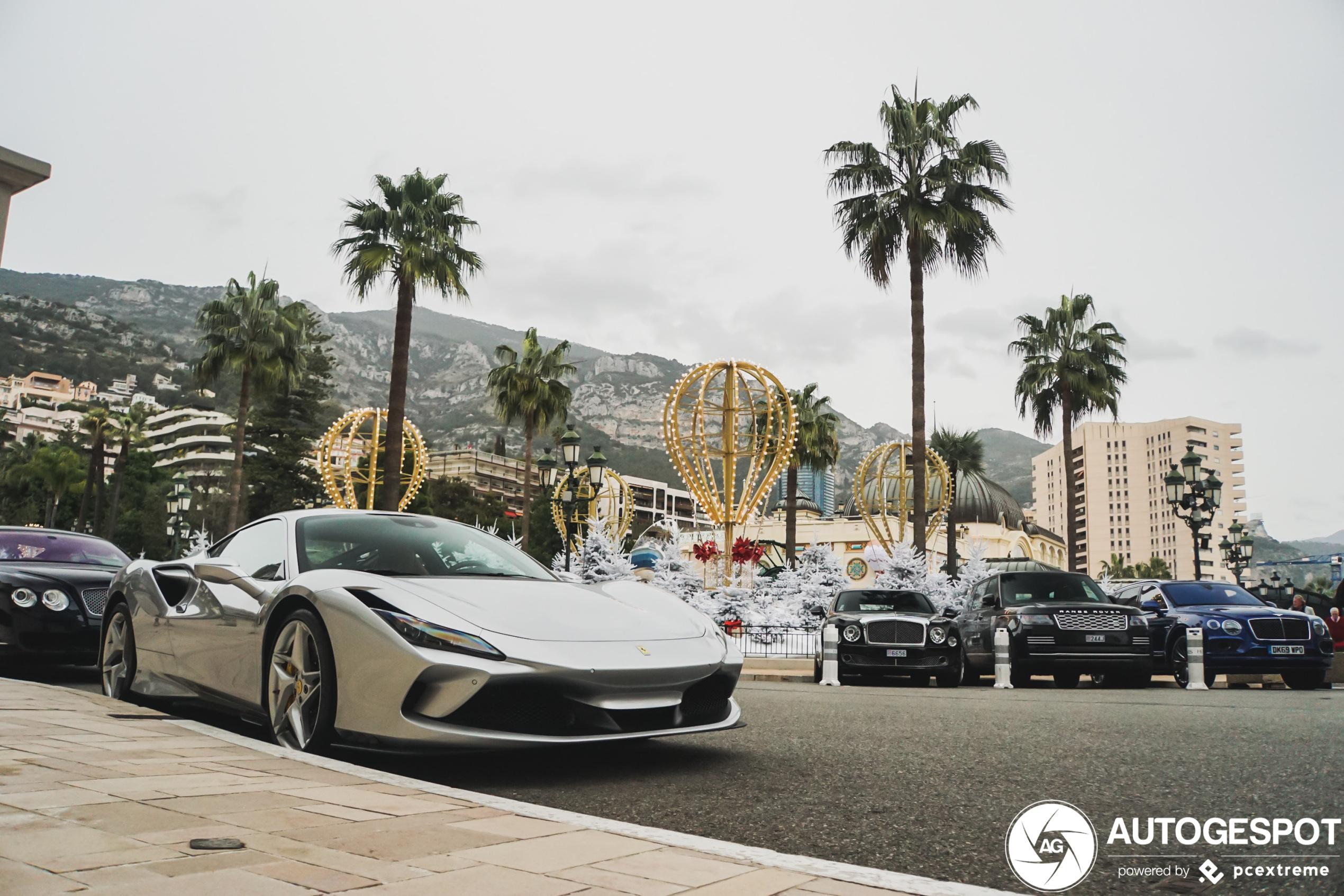 Monaco mag ook eindelijk aan de Ferrari F8 Tributo