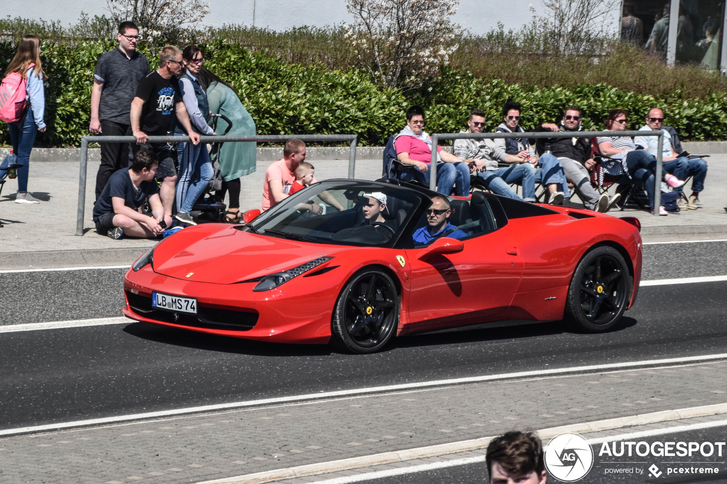 2020 Ferrari 458 Spider Performance