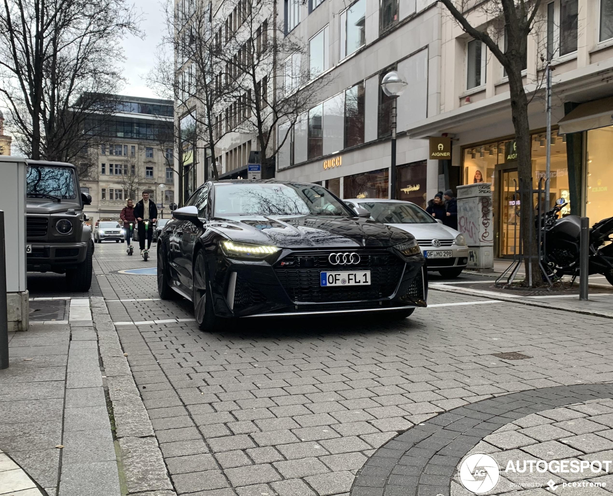 Audi RS7 Sportback mist een essentiële optie