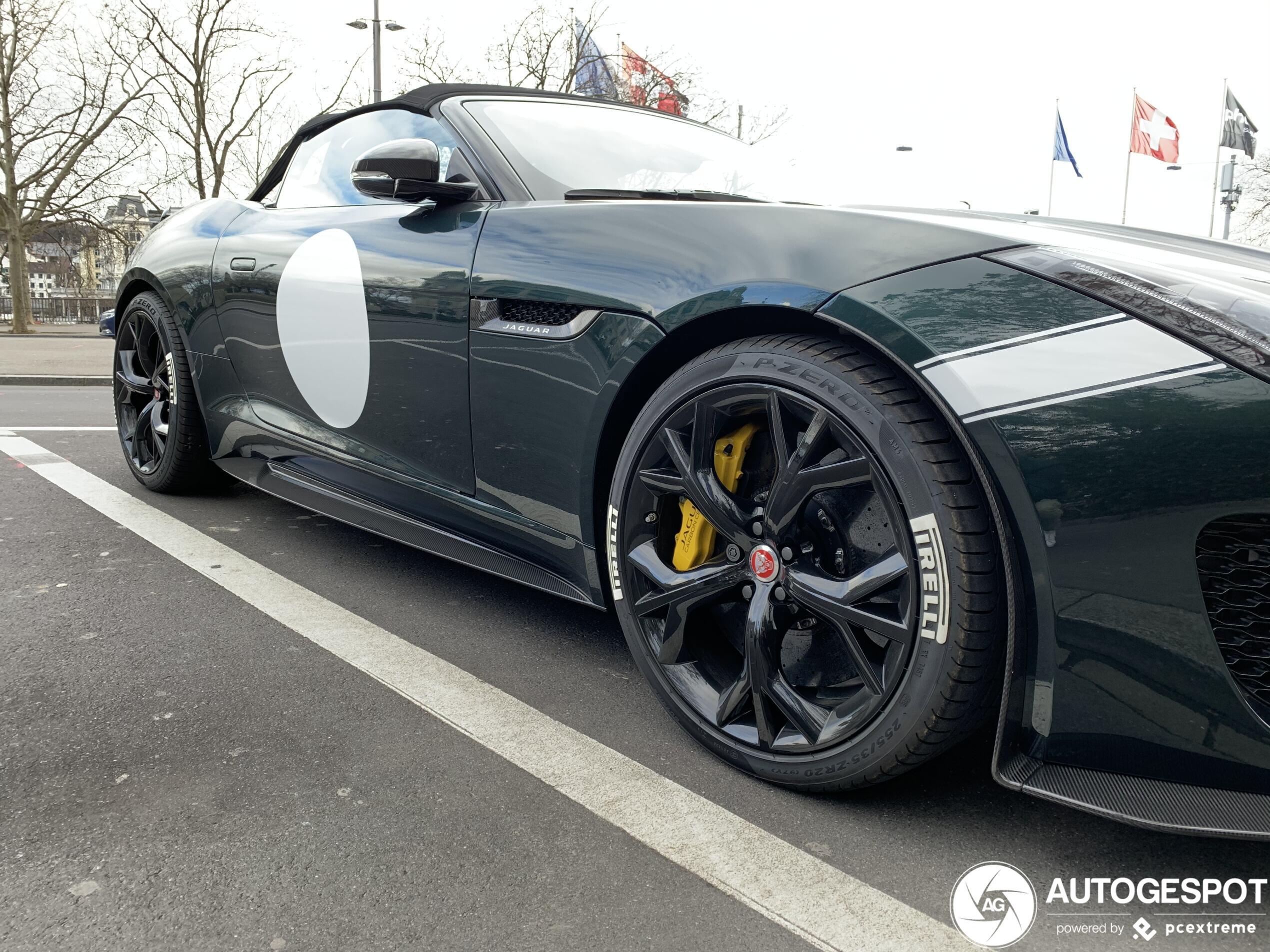 Jaguar F-TYPE Project 7 blijft een droomauto
