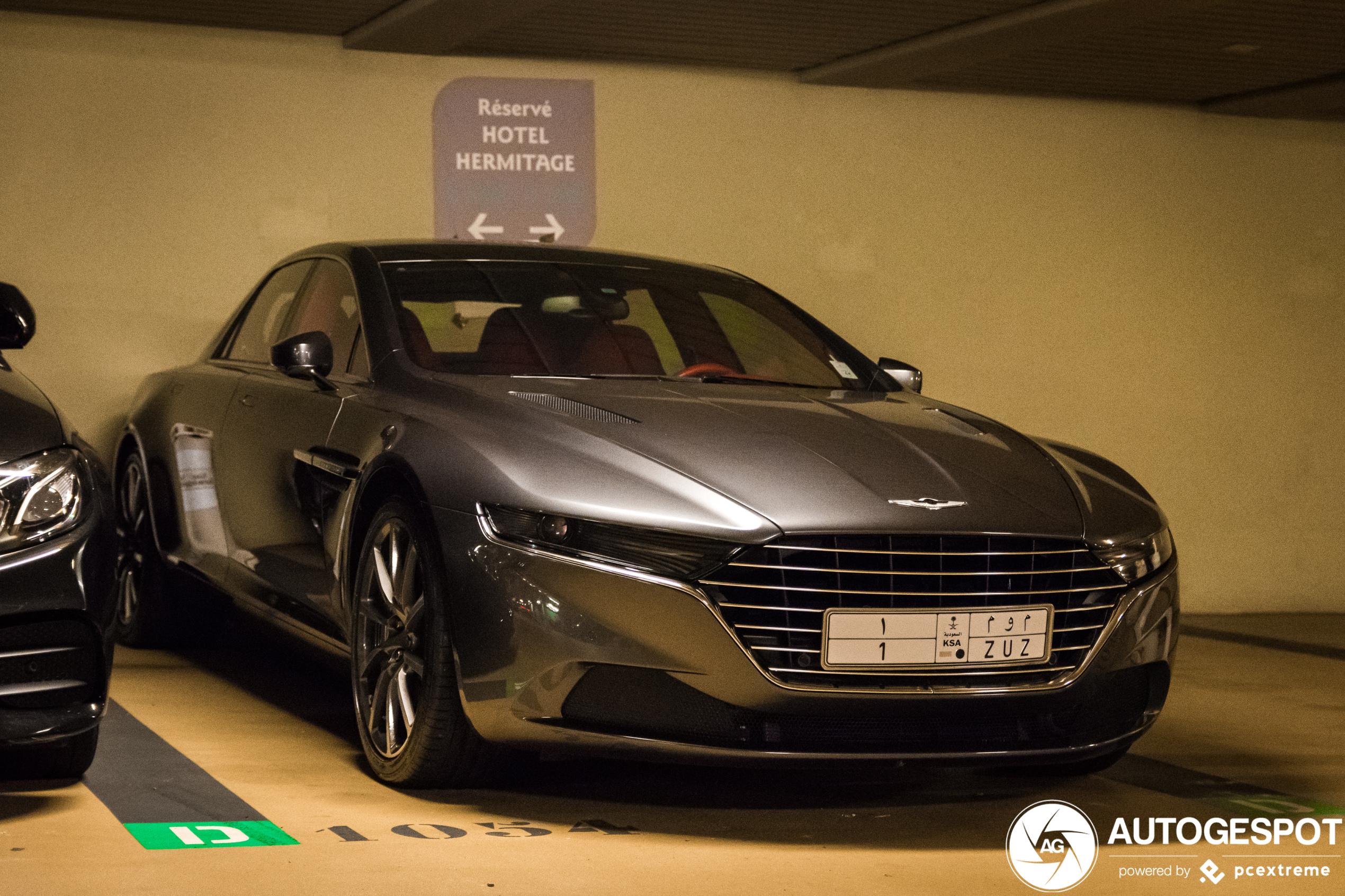 Aston Martin Lagonda Taraf 12 Januar 2020 Autogespot