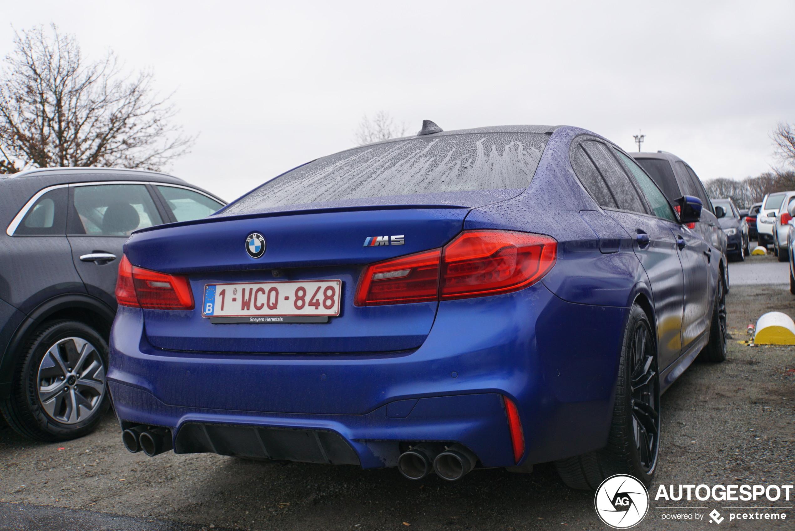 BMW M5 F90 - 12 January 2020 - Autogespot