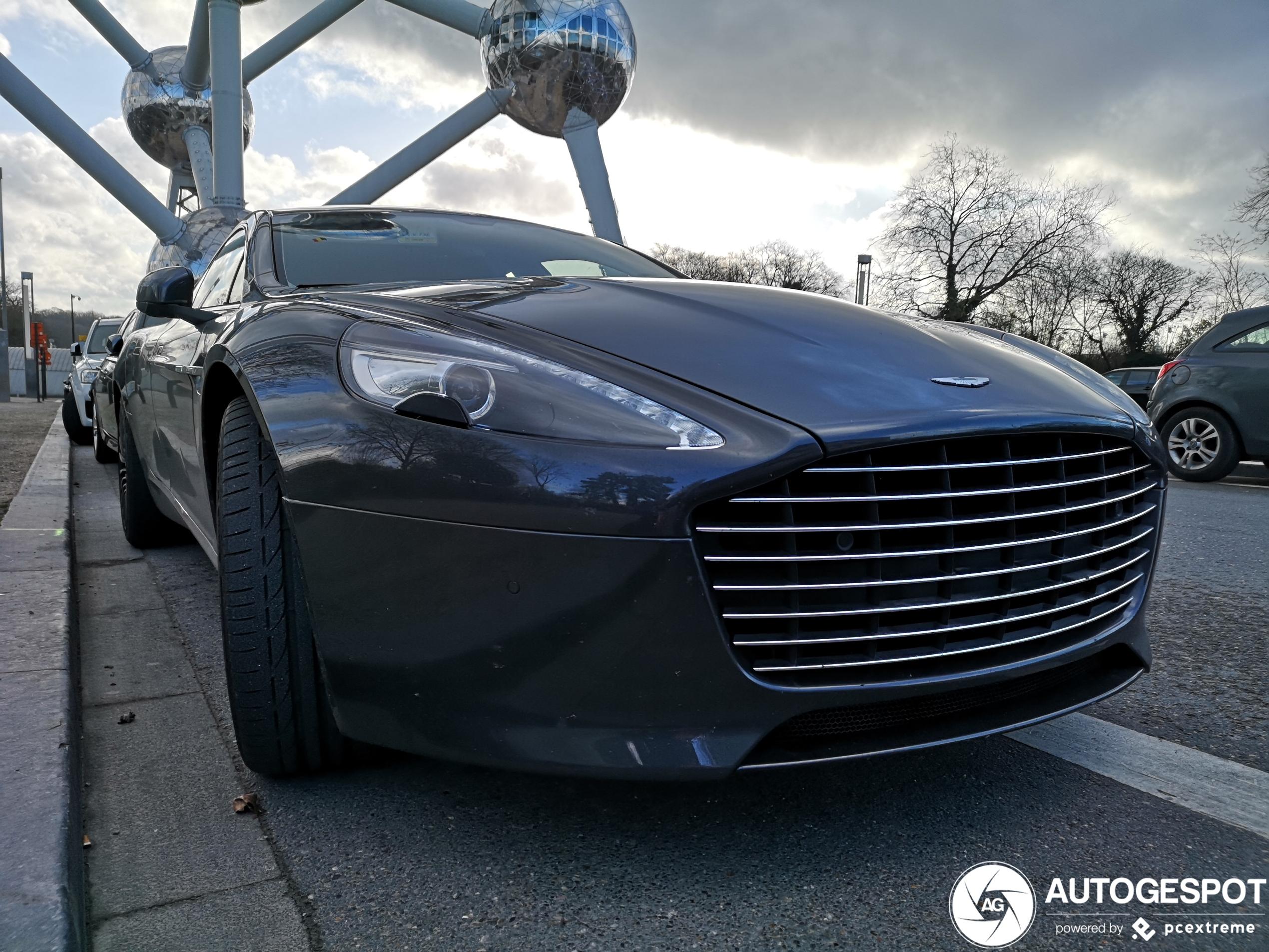 Aston Martin Rapide S heeft een prachtige neus