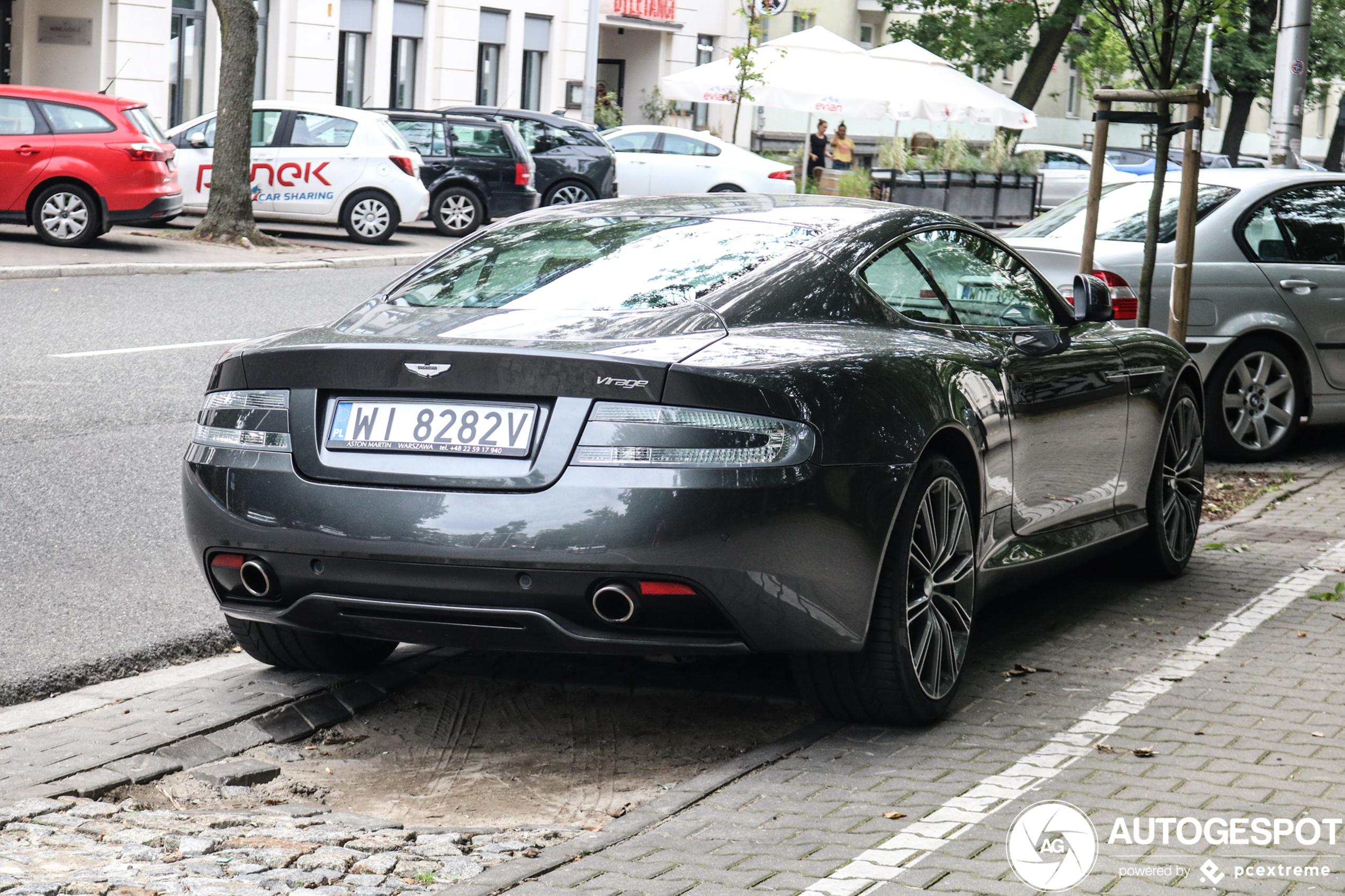 Aston Martin Virage 2011 13 Januar 2020 Autogespot