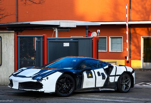 Ferrari SF90 Stradale Mule