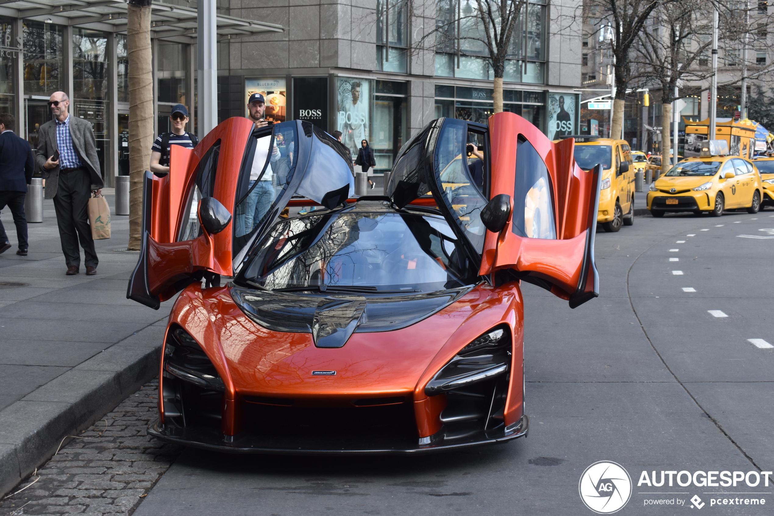 McLaren Senna is weer eens wat anders dan een gele taxi