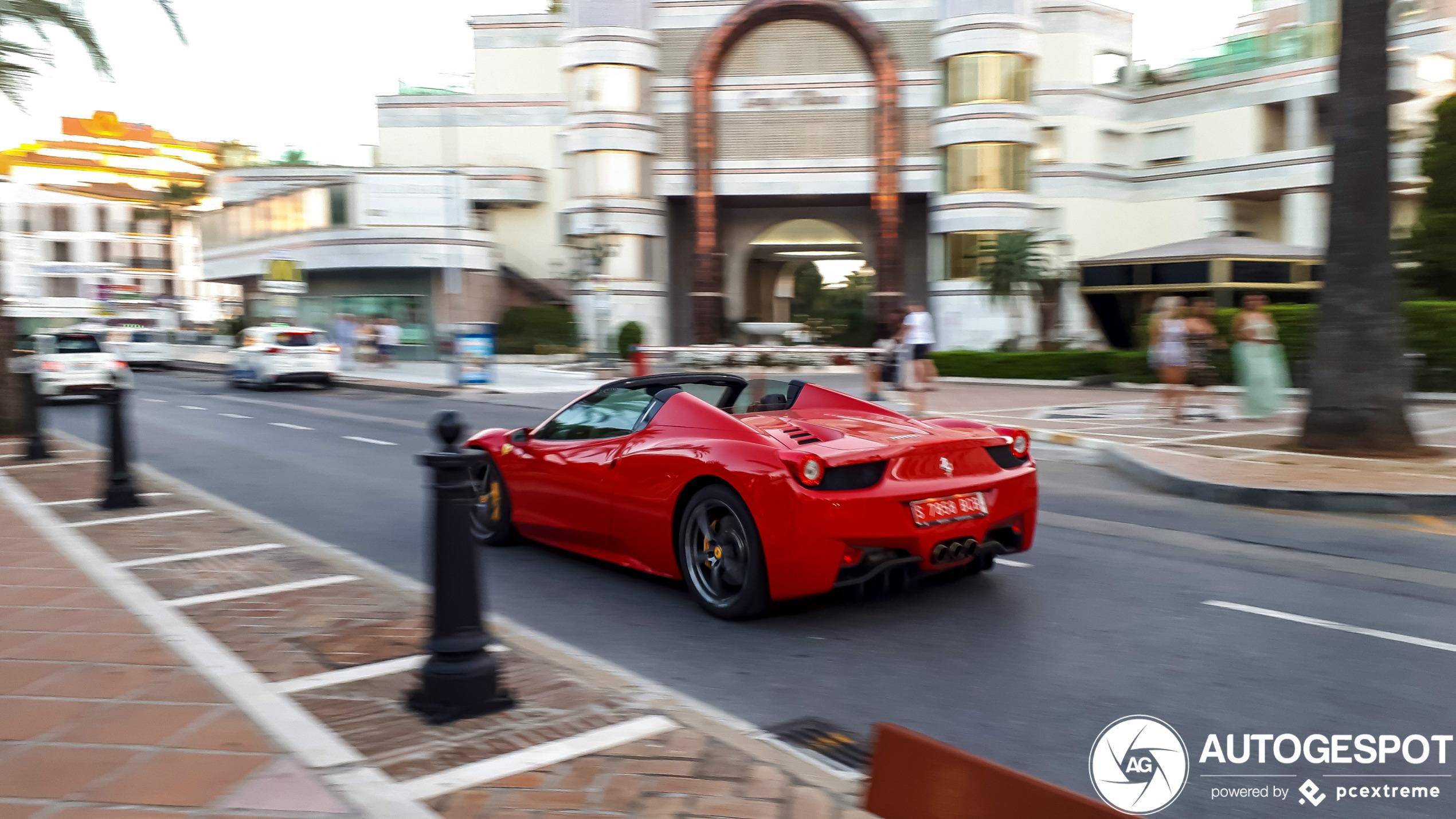 Ferrari 458 Spider - 15 January 2020 - Autogespot
