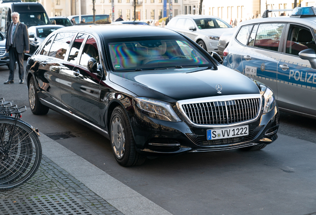 Mercedes-Maybach S 600 Pullman Guard VV222