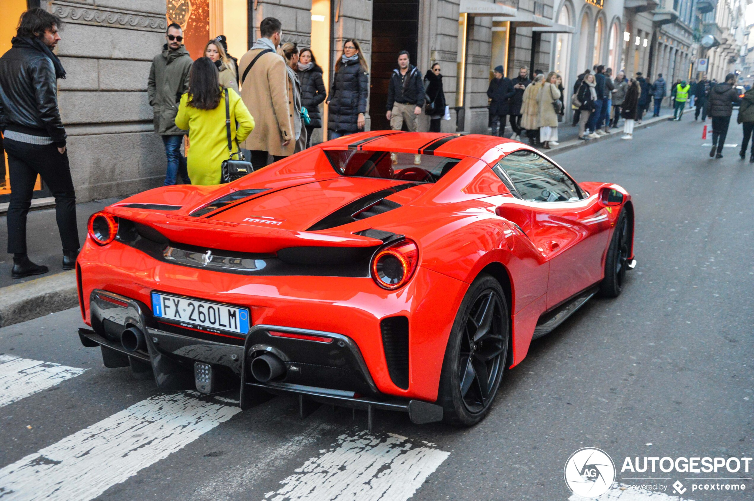 Ferrari 488 Pista Spider 17 January 2020 Autogespot
