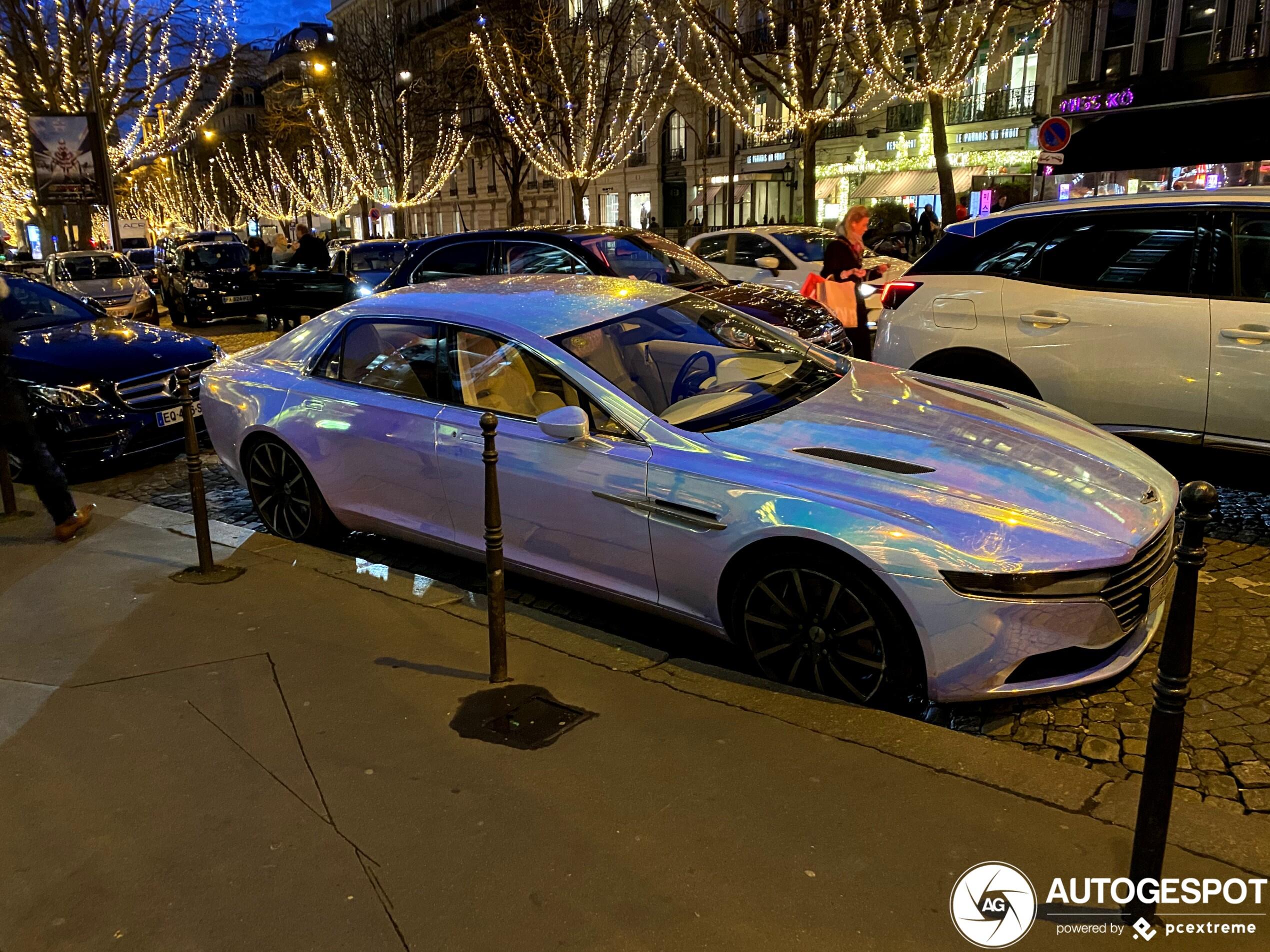 Aston Martin Lagonda Taraf 18 Januar 2020 Autogespot