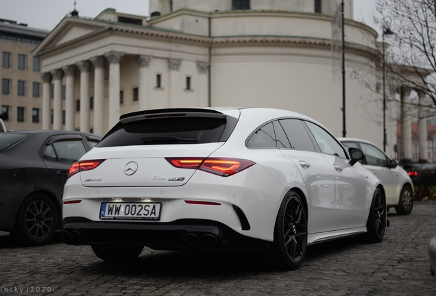 Mercedes-AMG CLA 45 S Shooting Brake C118