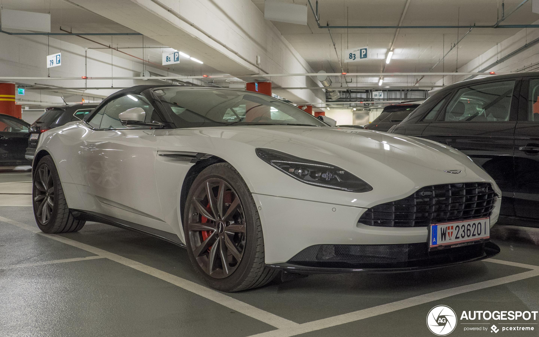 Aston Martin Db11 V8 Volante 19 January 2020 Autogespot
