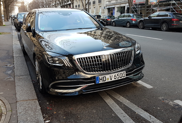 Mercedes-Maybach S 650 X222 2018