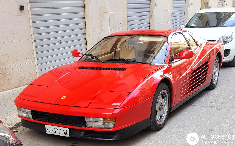 Ferrari Testarossa 20 January 2020 Autogespot
