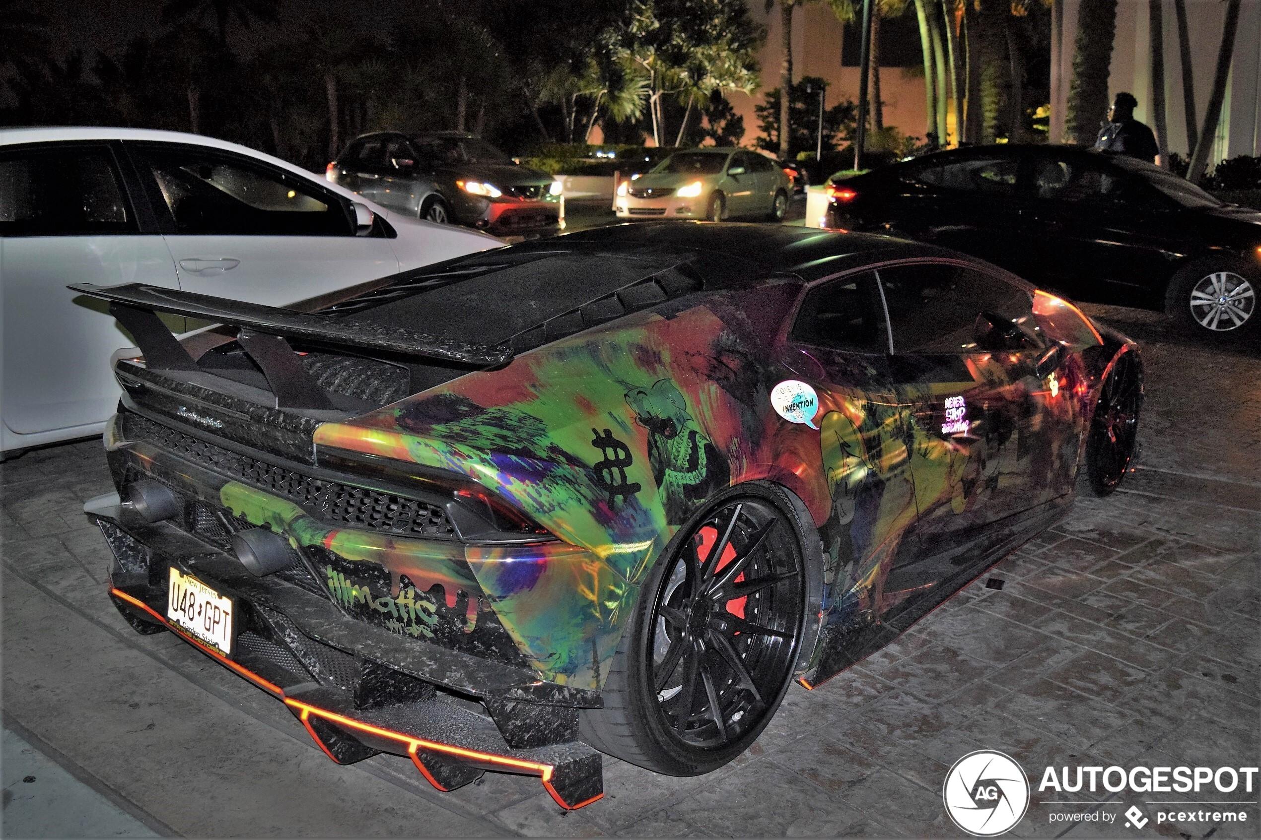 Lamborghini kan wel een spacer gebruiken