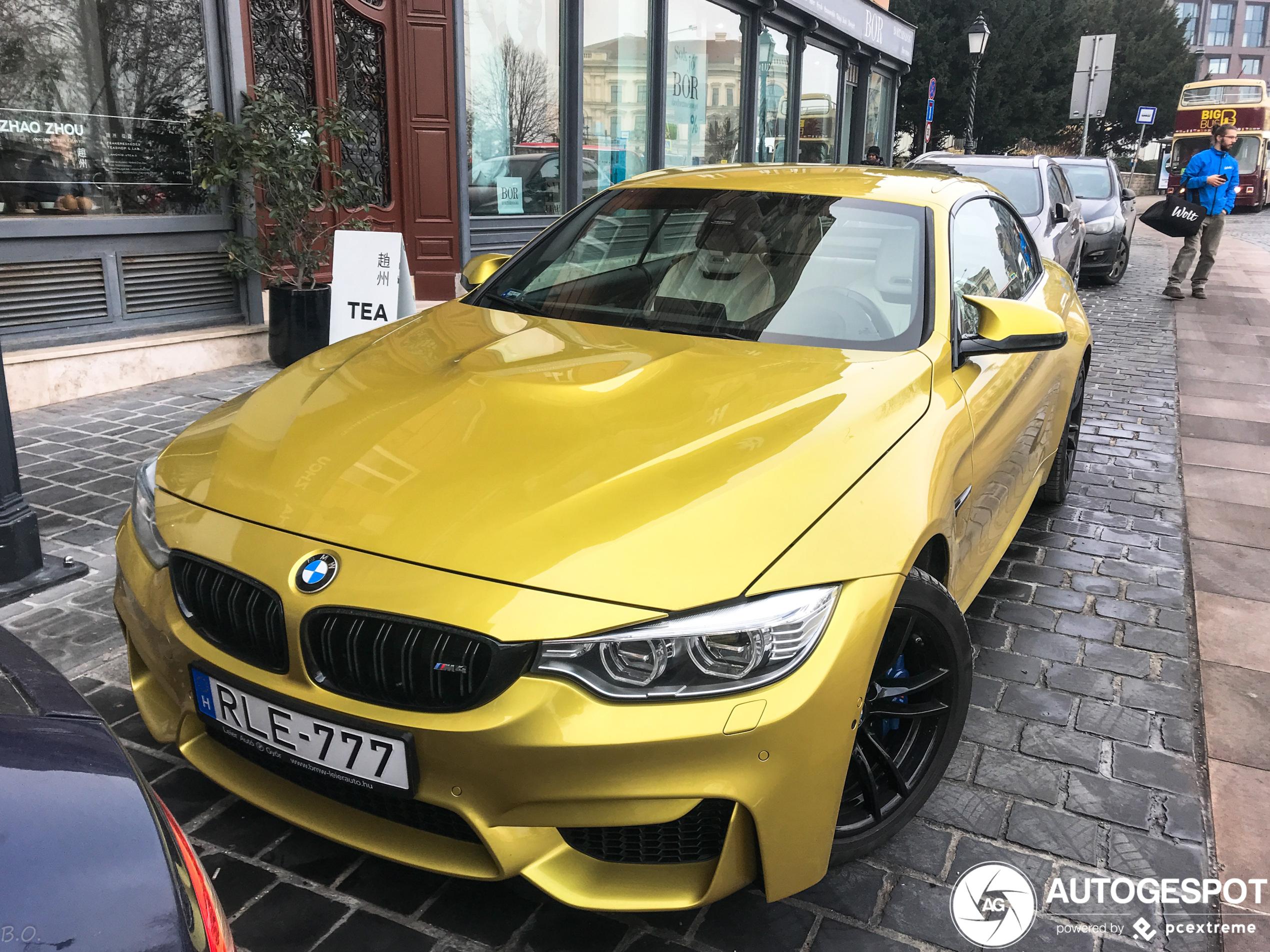 BMW M4 F83 Convertible - 22 January 2020 - Autogespot