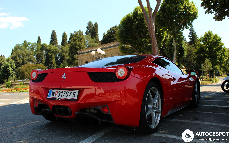 2020 Ferrari 458 History
