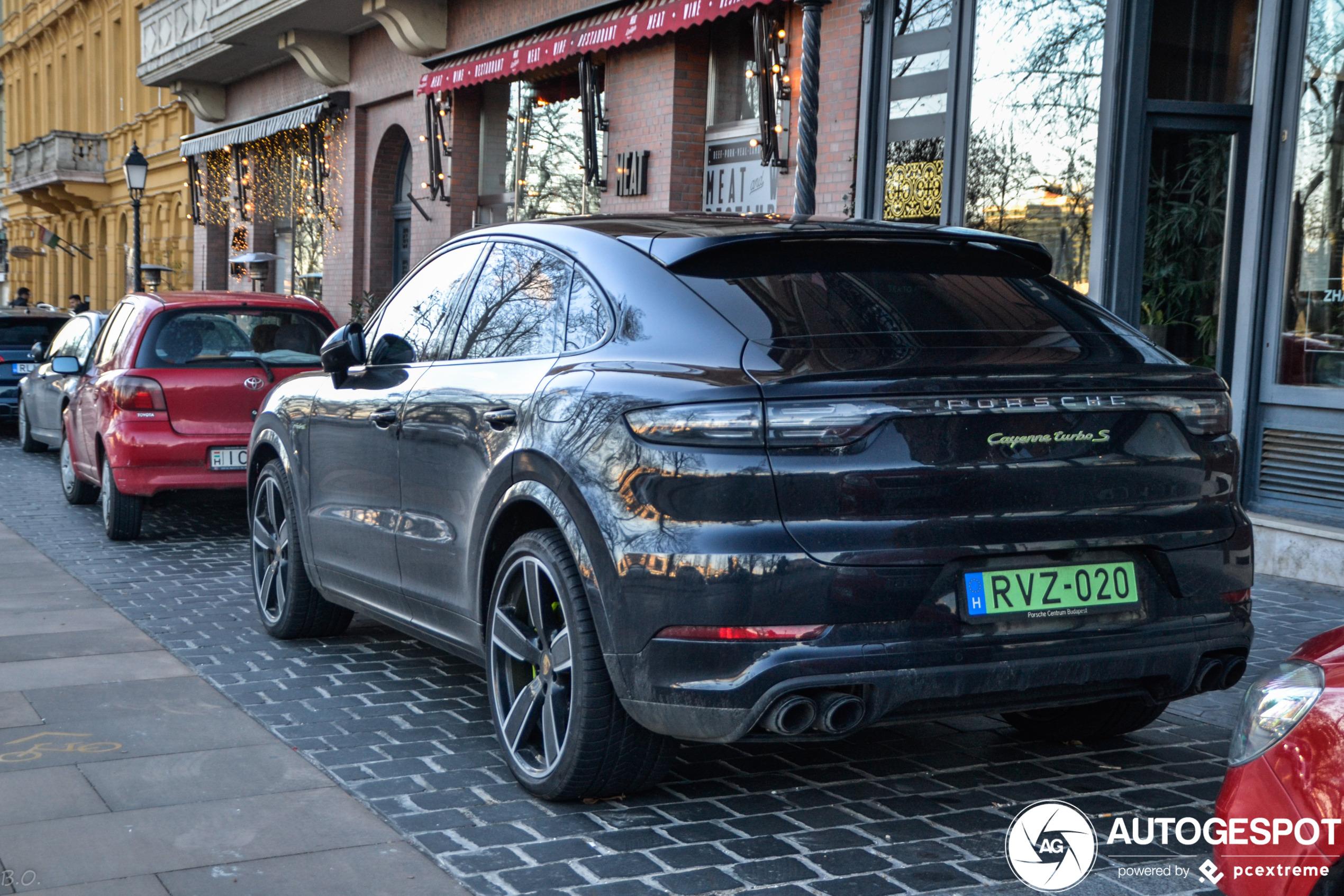 Porsche Cayenne Coupe Turbo S E Hybrid 22 January 2020 Autogespot