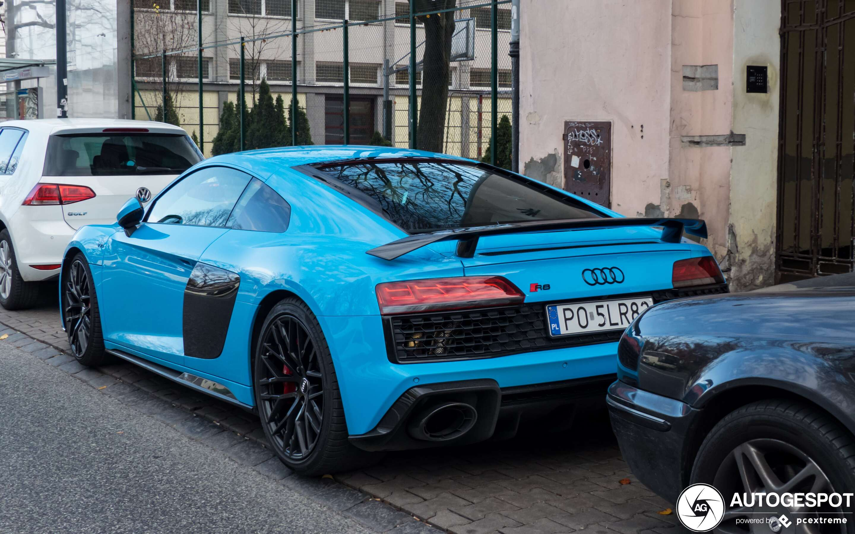 Audi R8 V10 Performance 2019 23 January 2020 Autogespot