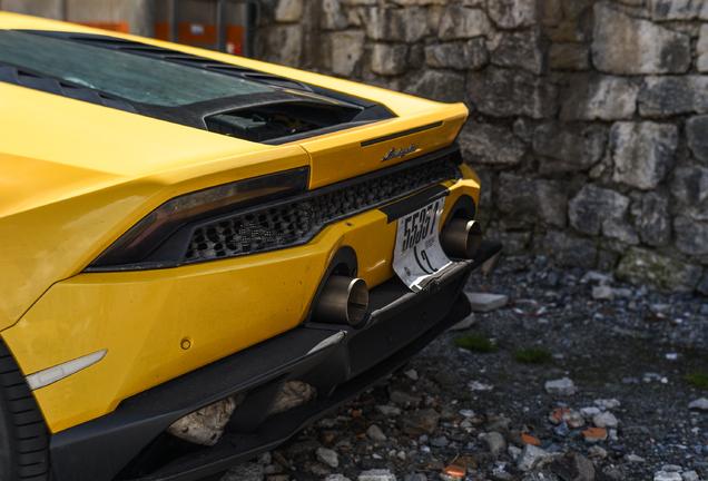 Lamborghini Huracán LP640-4 EVO Mule