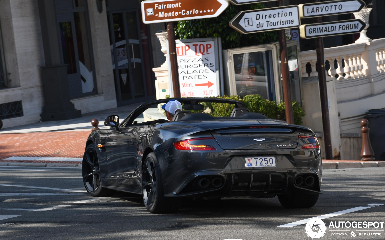 Aston Martin Vanquish S Volante 2017 Ultimate Edition