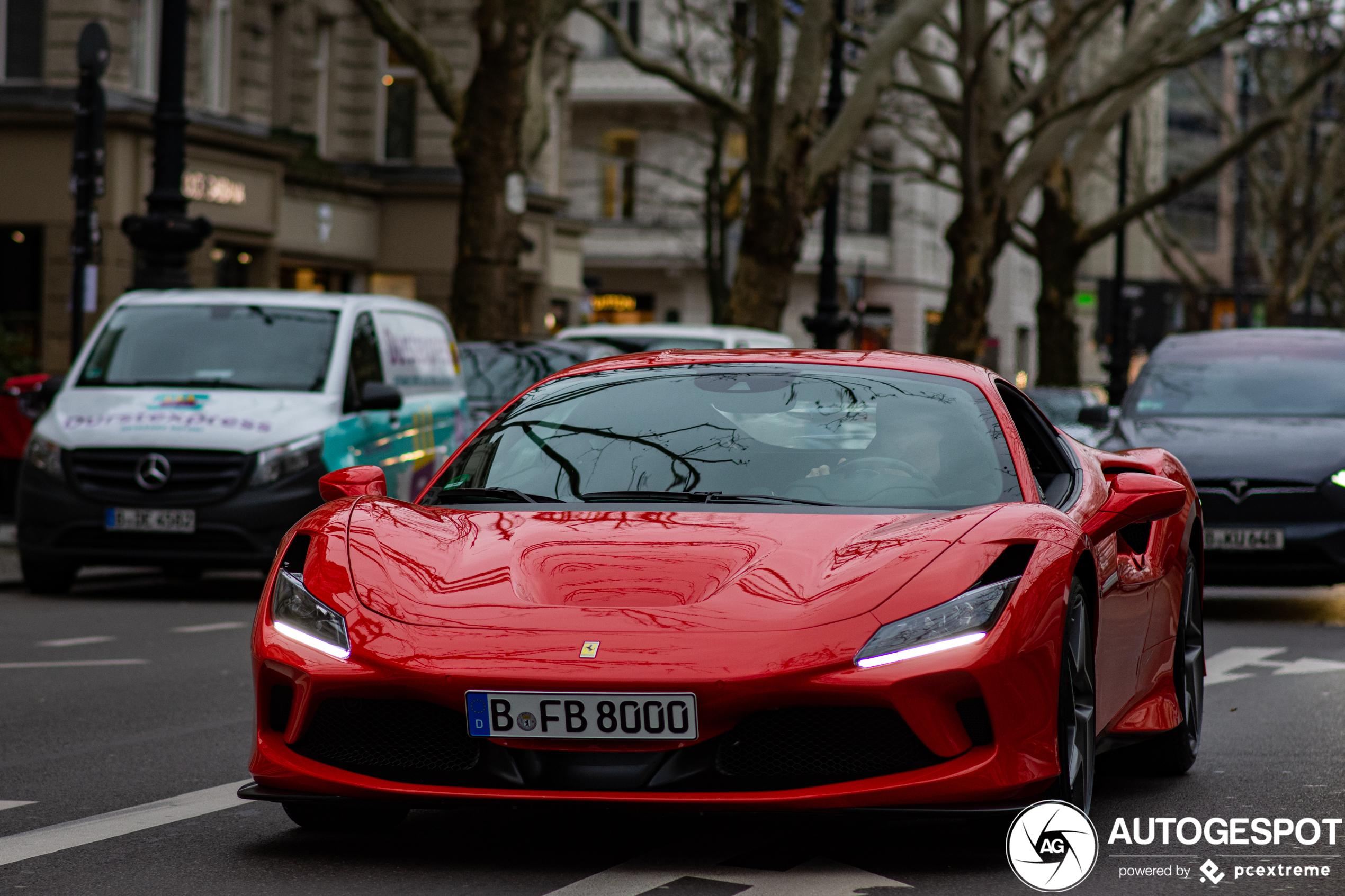 Ferrari F8 Tributo maakt zijn opwachting in Berlijn