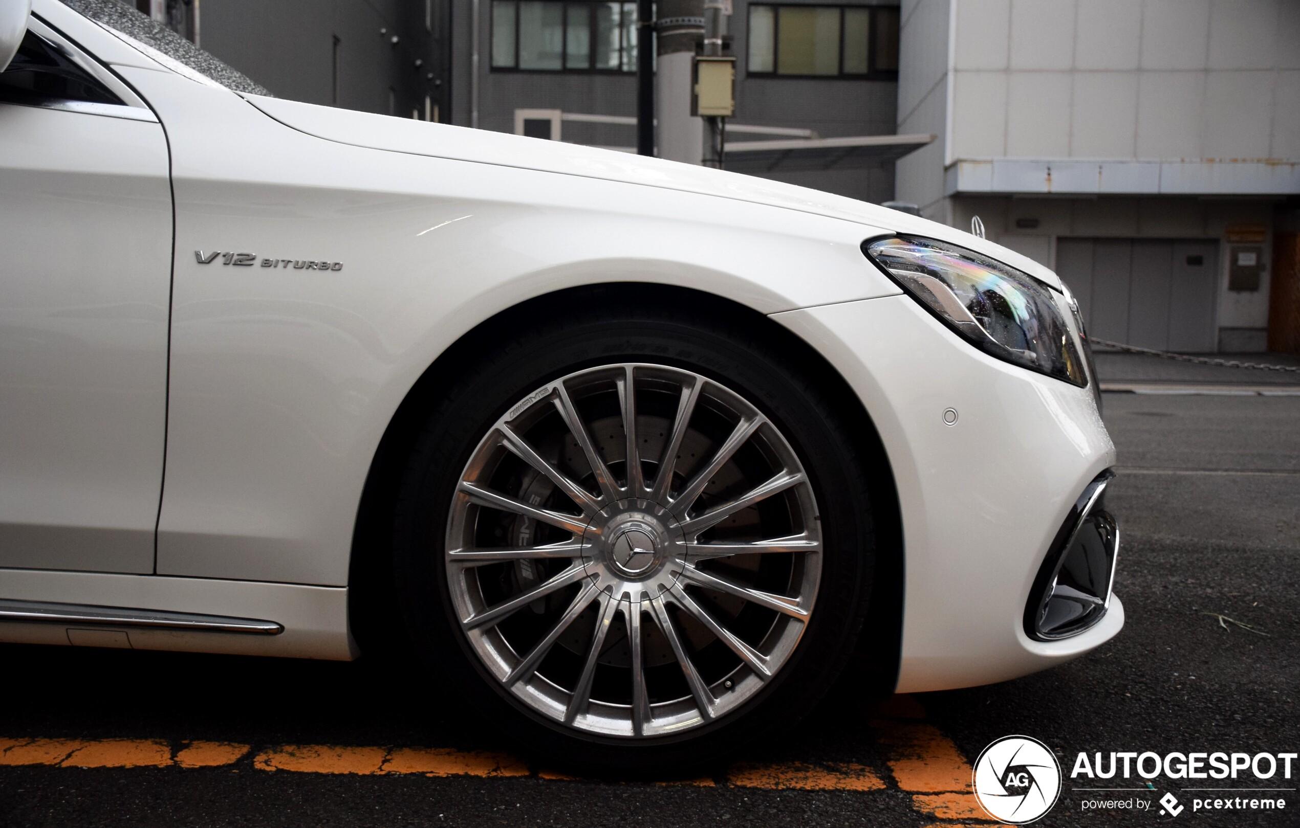 Mercedes-AMG S 65 is laatste der mohikanen