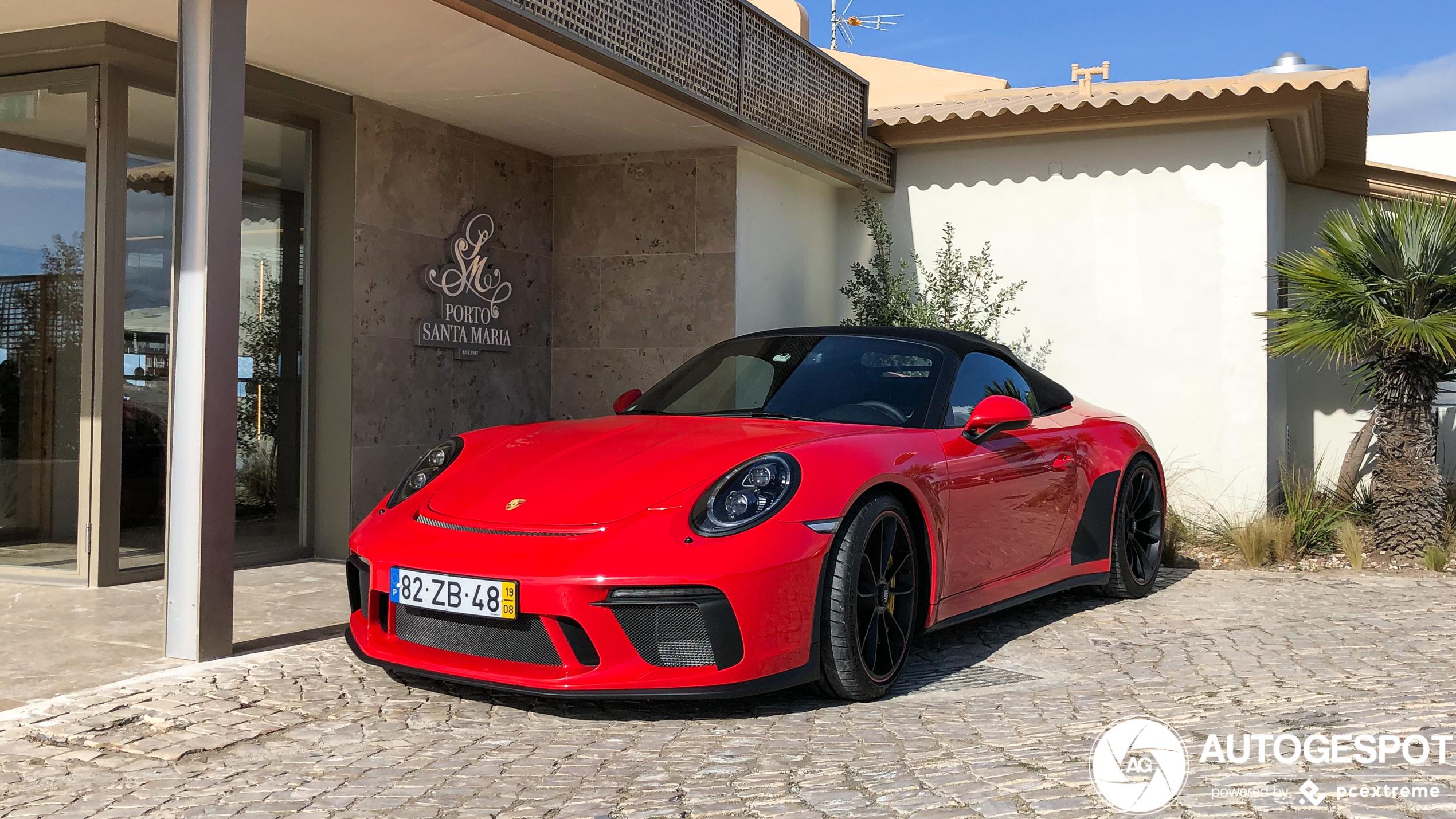 Het dak gaat eraf bij deze Porsche 991 Speedster
