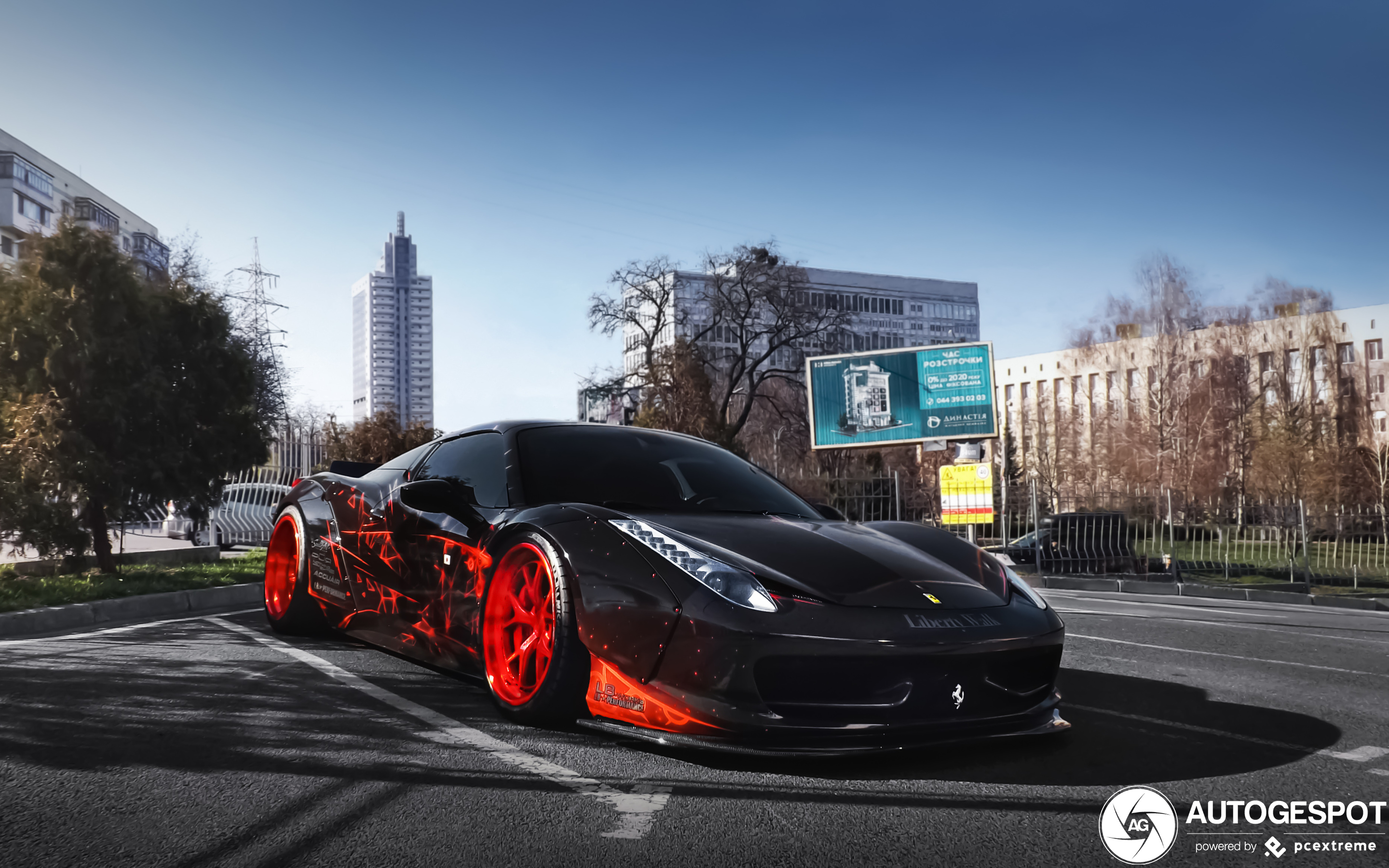 Ferrari 458 Spider Liberty Walk Widebody