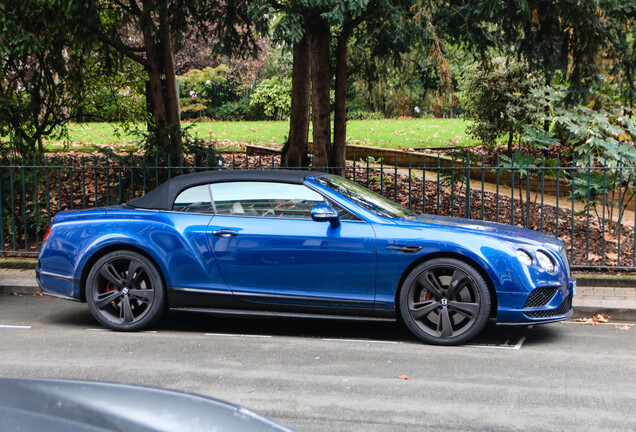 Bentley Continental GTC Speed 2016