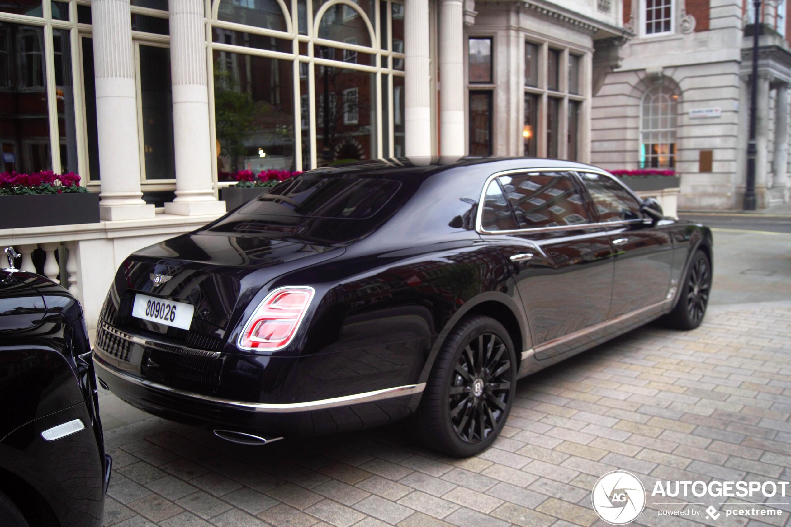 Bentley Mulsanne Speed W.O. Edition by Mulliner is ultiem eerbetoon