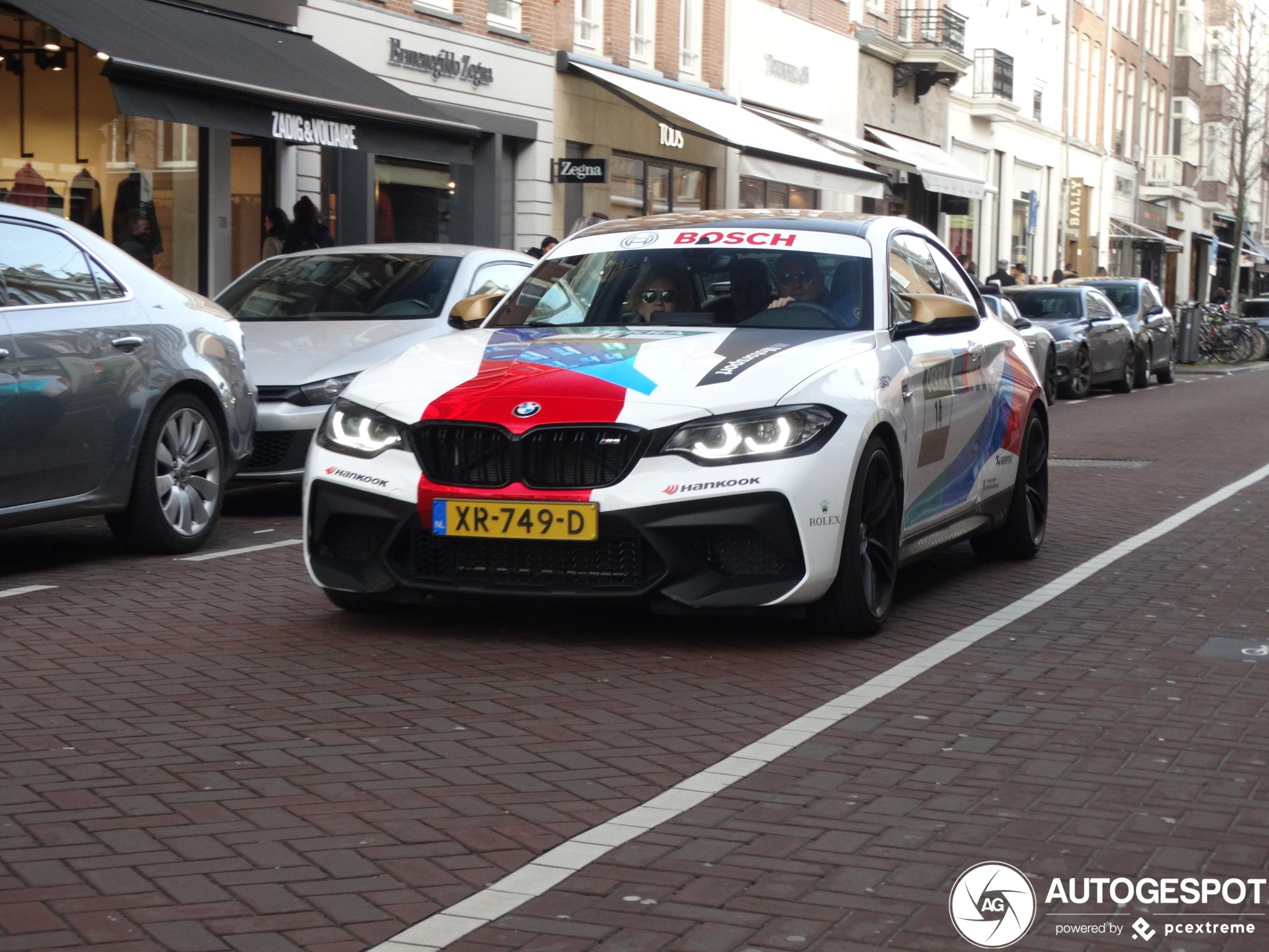 BMW M2 Competition kan zo het circuit op