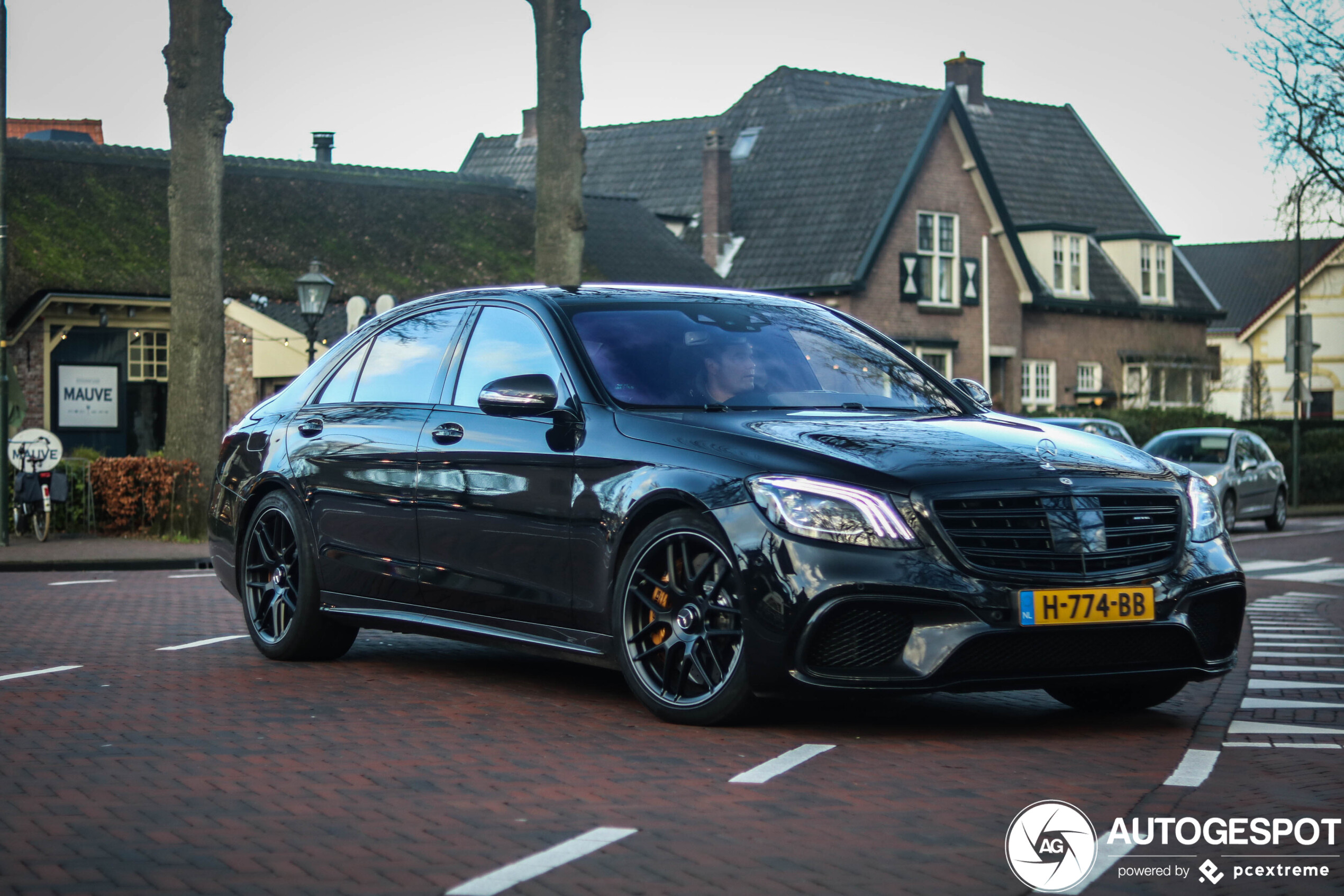 Overheid heel blij met deze nieuwe Mercedes-AMG S 65