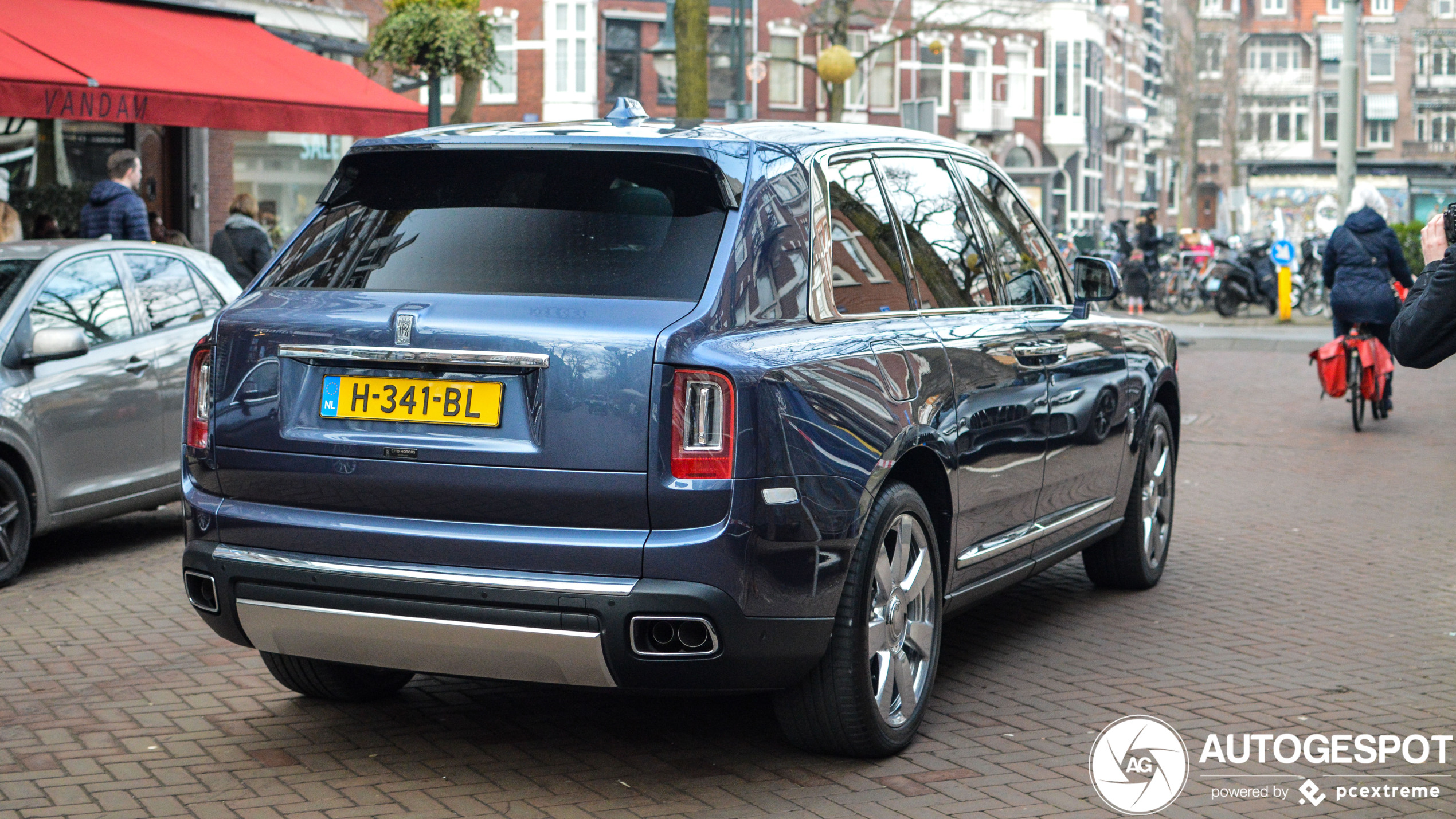 Spot van de dag: Rolls-Royce Cullinan