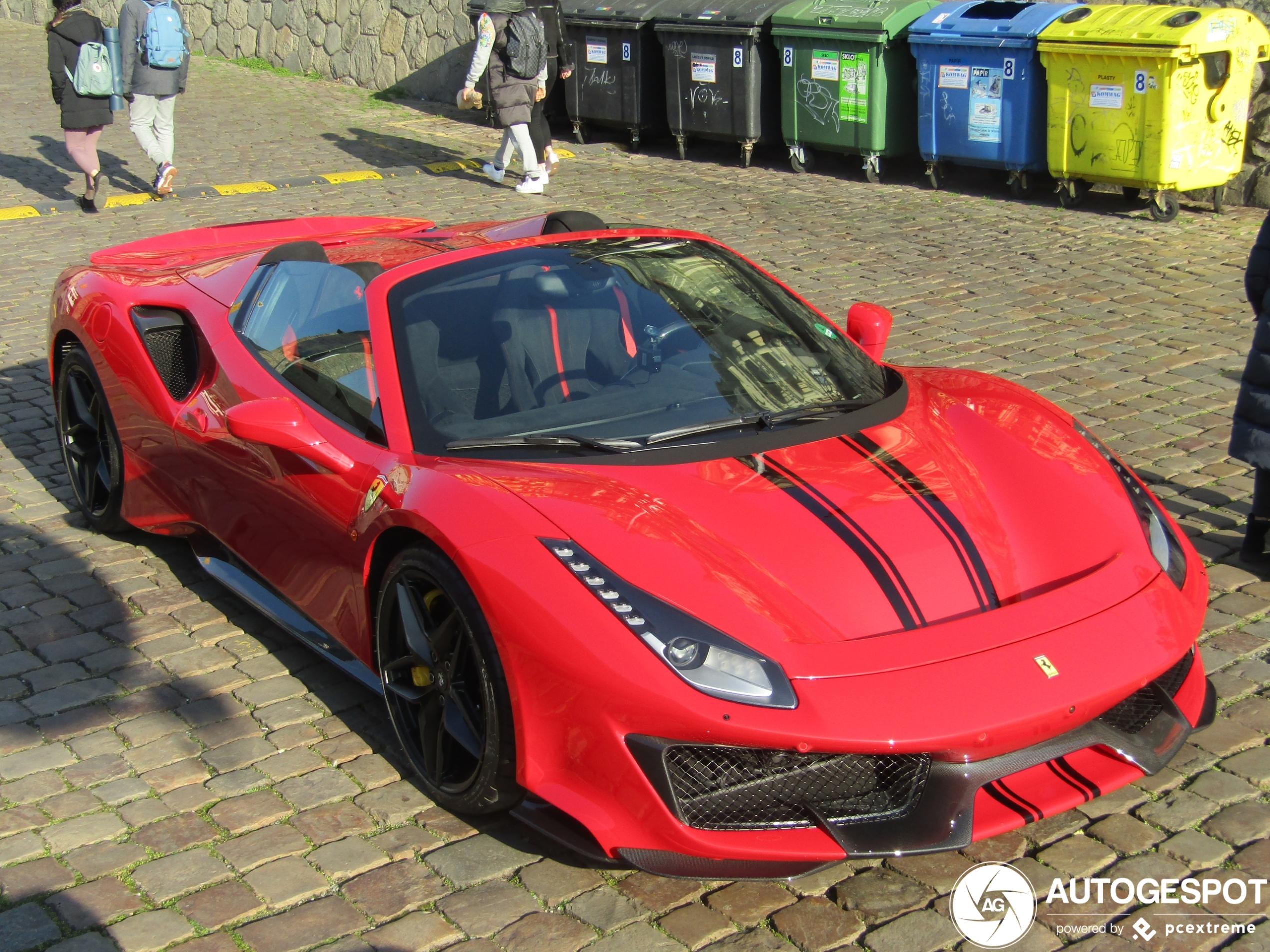 Deze nieuwe Ferrari 488 Pista's werden afgelopen weekend gespot