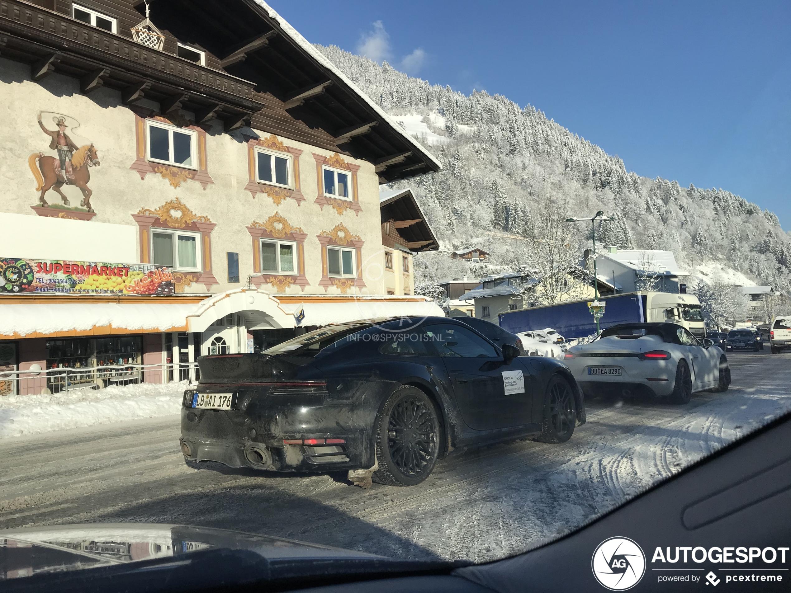 Deze Porsche wordt over drie weken onthuld