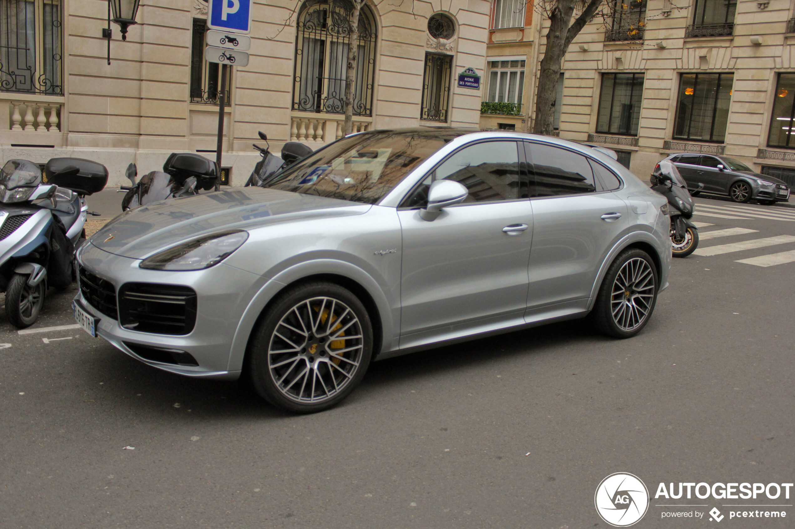 Porsche Cayenne Coupe Turbo S E Hybrid 8 February 2020 Autogespot