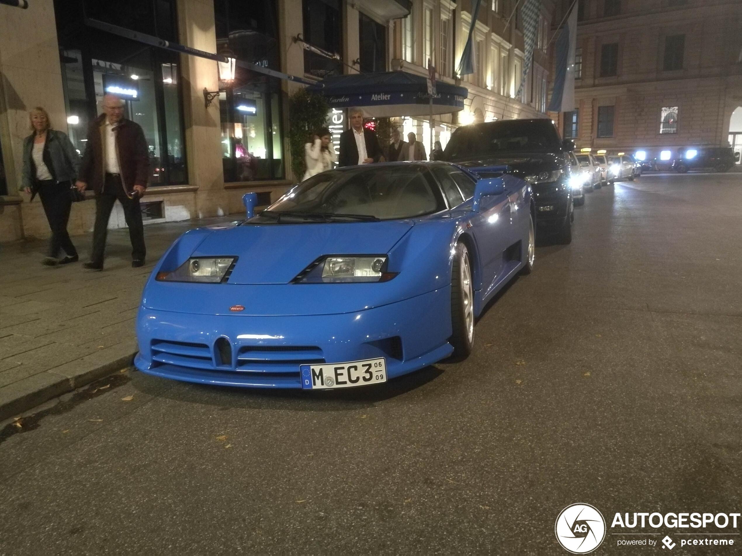 Deze klassieke Bugatti heeft nog geen rollator nodig