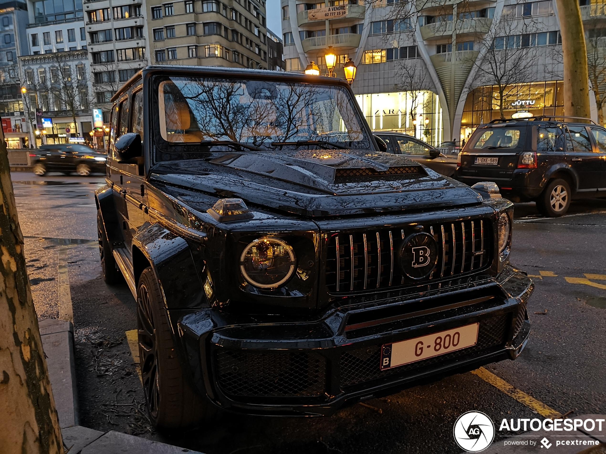 Stormvast: Mercedes-AMG Brabus G B40s-800 Widestar