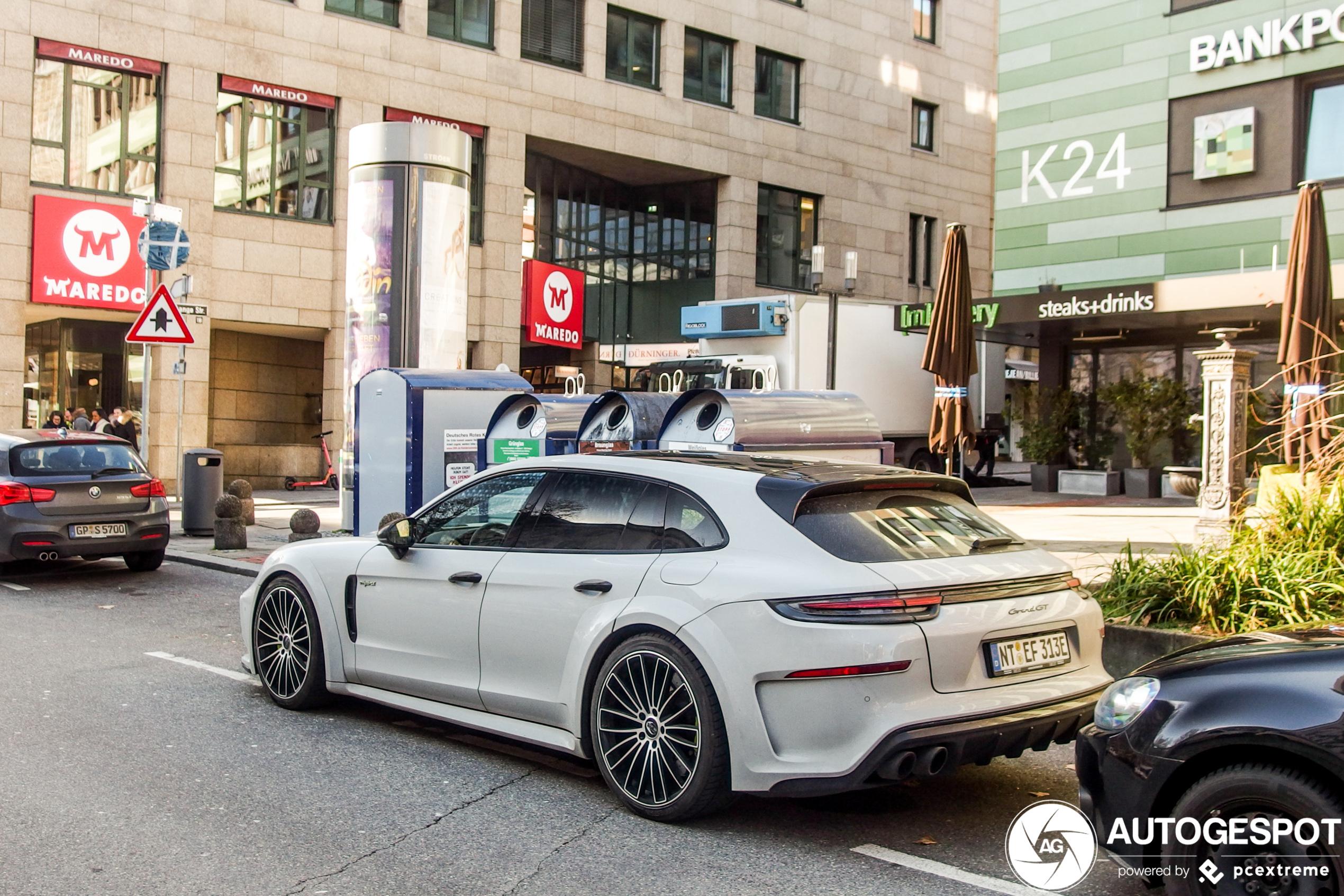 Niet van je scherm te slaan: Porsche TechArt GrandGT