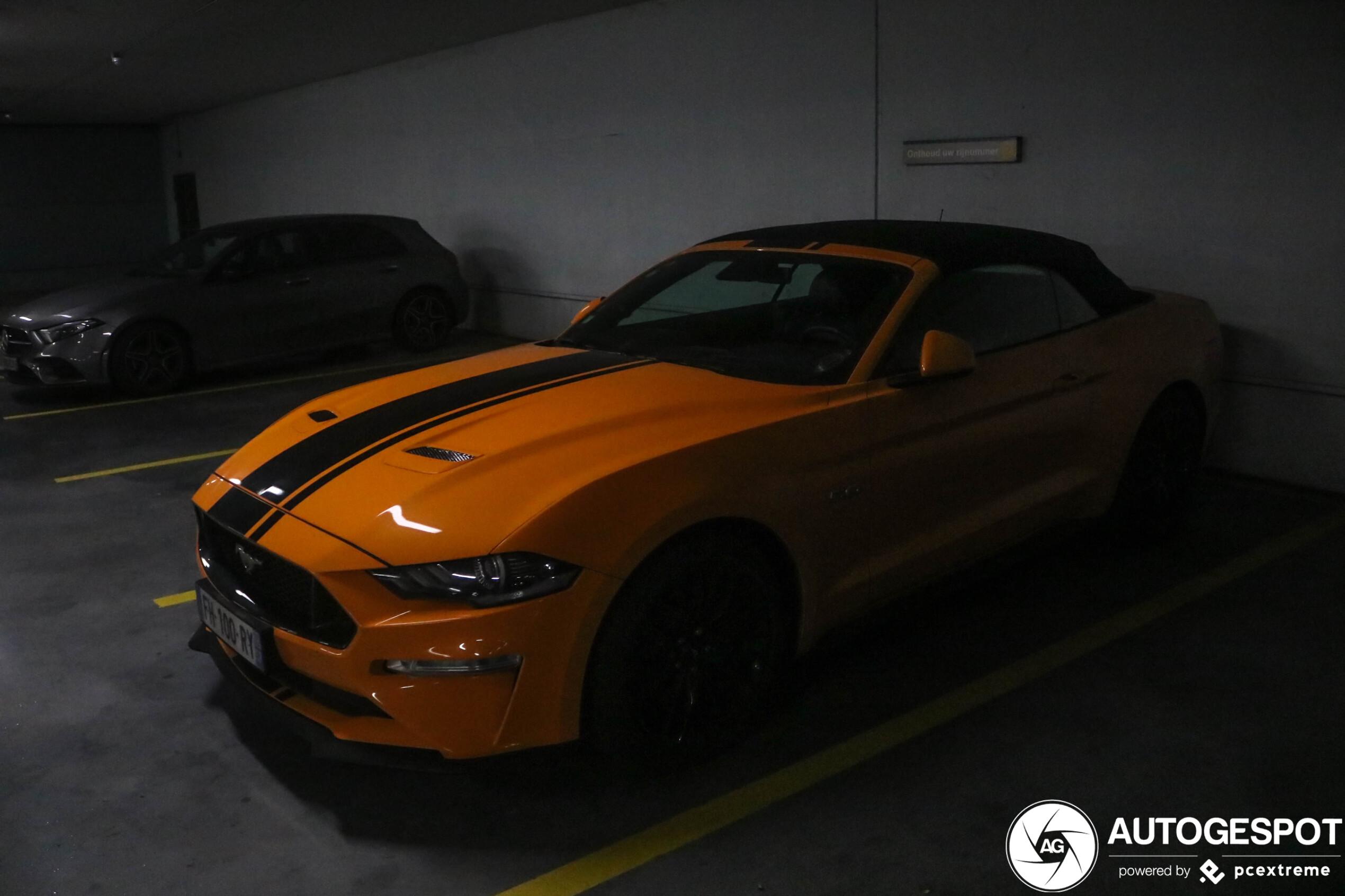 2020 Mustang Gt Convertible Weight