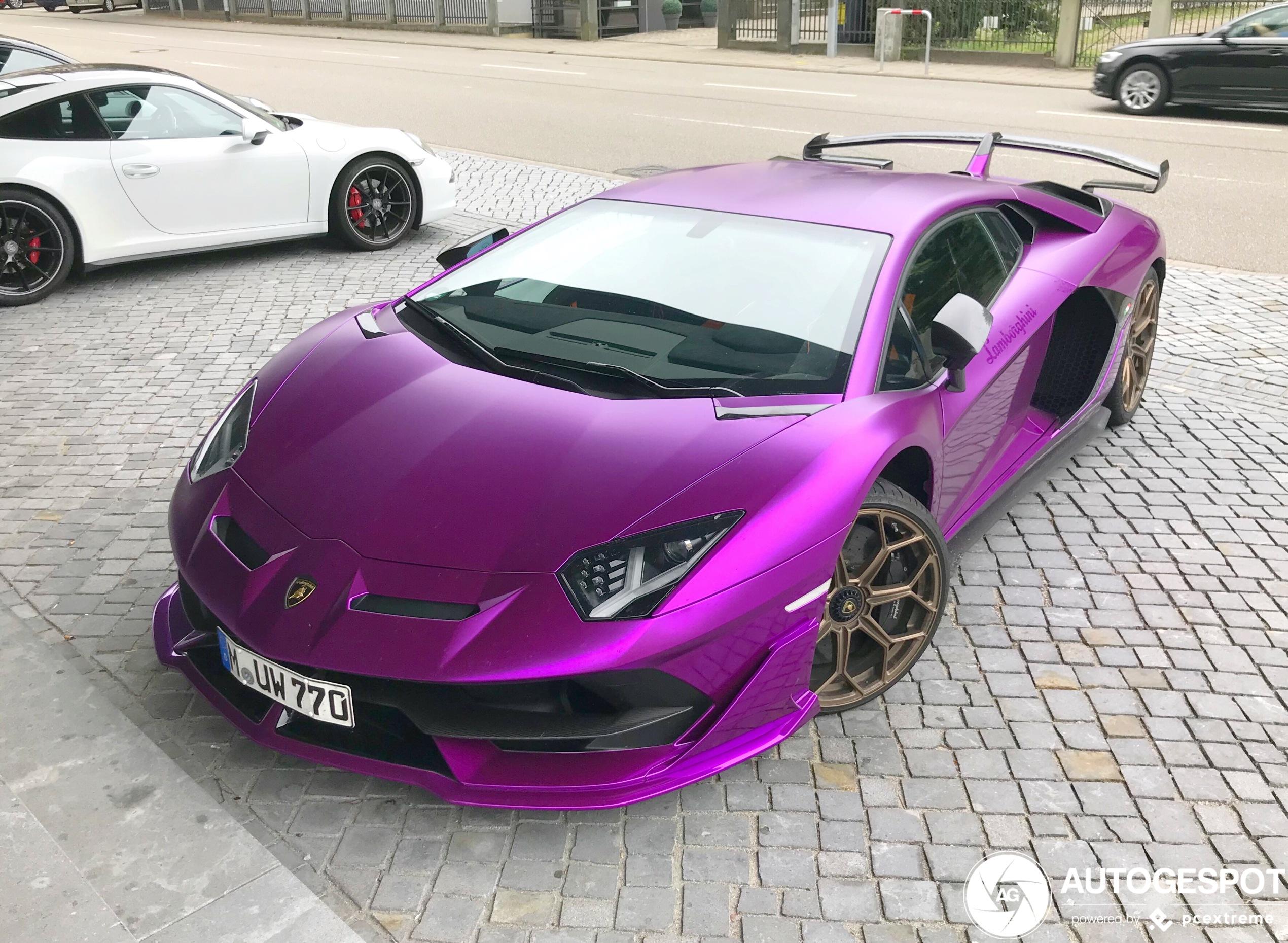Opvallender kon deze Lamborghini niet